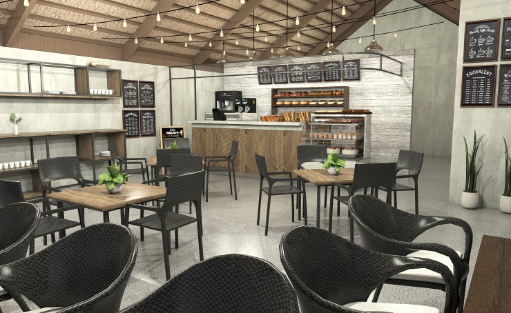 PROFONDO_BAKERY_PERSPECTIVE VIEW_INDUSTRIAL CHIC